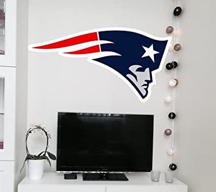 Patriots decal Patriots sticker Patriots wall decal NFL logo decal Patriots NFL : new england patriots wall decals - www.pureclipart.com