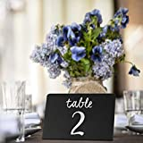30 Pack Rustic Mini Chalkboard Signs - Easy to