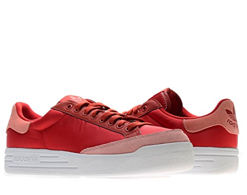 Adidas Men's Rod Laver Shoes, St. Brick/St. Fade Rose-Running White, 8 M US ()