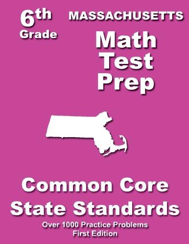 Massachusetts 6th Grade Math Test Prep: Common Core Learning Standards