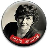 Doris Lessing Writer Badge by RetroBadge