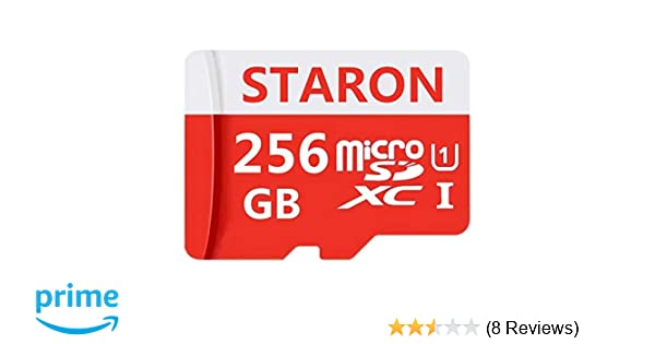 256GB Micro SD SDXC Memory Card High Speed Class 10 with Micro SD Adapter