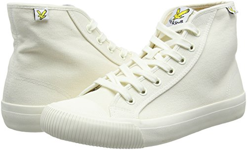 Trainers Canvas Luggie amp; White White Scott Lyle Hi Mens tXYYwU