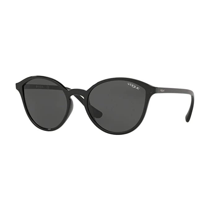 Vogue 0VO5255S Gafas de sol, Black, 55 para Mujer: Amazon.es ...