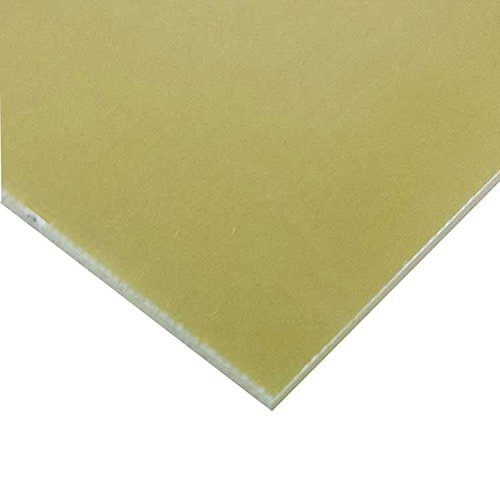 Online Metal Supply G11 FR5 Glass Epoxy Laminate Sheet .500'' x 12'' x 24'' - Natural by Online Metal Supply