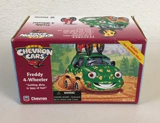 Chevron Cars Freddy 4-Wheeler with Mountain Bikes, 3 Piece Set (Chevron Car)