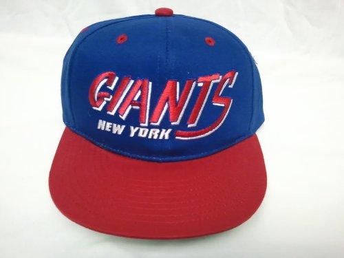 NEW Ny New York Giants NFL Two Tone Vintage Snapback Flatbill Cap / Hat