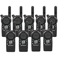 9 Pack of Motorola CLS1110 Two-way Radios with Programming Video