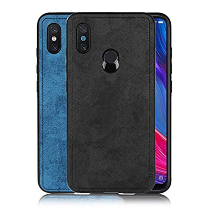 low priced f669d 9b181 Atzone Honor 10 Lite Back Cover Cloth Design Luxury Shockproof Protective  Anti-Slip Back Phone Case for Honor 10lite (Black)