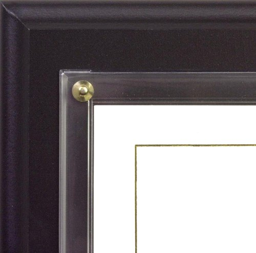 Black Award Plaque (Walnut Grove Slide-in Certificate Plaque and Document Holder (Satin Black))