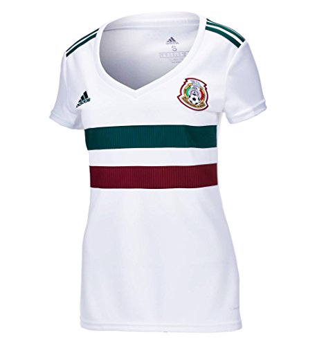 adidas Mexico Away Women's Soccer Stadium Jersey World Cup Russia 2018 (XL)