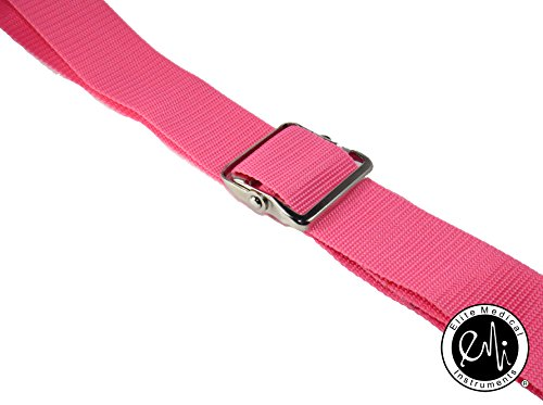 EMI-60-Gait-Transfer-Belt-PINK-with-Metal-Buckle