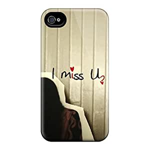 New Arrival I Miss You VIWfdia2895hbhTx Case Cover/ 4/4s Iphone Case