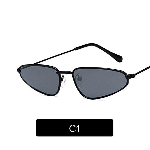 Teardrop C1 De De Uv400 De C2 Pasarela Sol Sol Gafas Retro Famle Gafas KLXEB Moda Gafas Mujer xzaSXqg