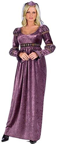 Adult Juliet Costumes (Amethyst Juliet Costume - Adult Costume - Medium/Large (10-14))