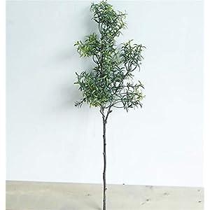Skyseen 3Pcs Artificial Rosemary Plants Fake Rosemary Greenery Leaves Bushes Evergreen Shrubs Spray 25