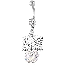266d159c39876 Winter Holiday Belly Rings | Ring My Belly