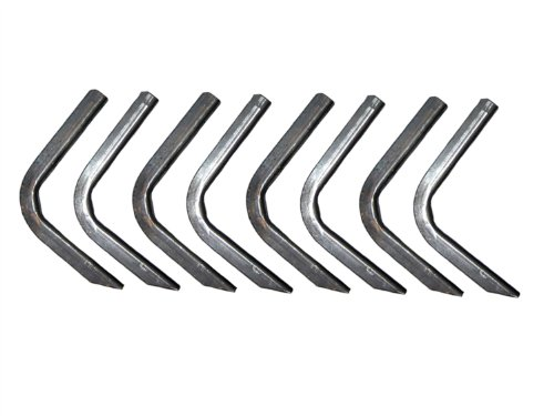Lund 300006 EZ Running Board Bracket Kit for 2002-2009 Trailblazer & Envoy; 2002-2006 Trailblazer EXT & Envoy XL; 2002-2005 Olds Bravada; 2004-2007 Buick Rainier; 2003-2008 Isuzu Ascender