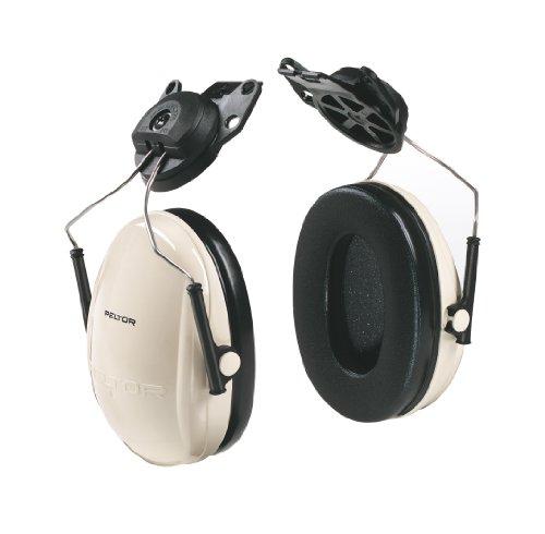 Hard Hat Hearing Protection - 3M Peltor Optime 95 Cap-Mount Earmuffs, Hearing Conservation H6P3E/V