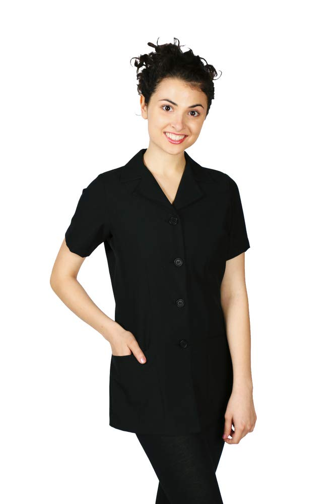 Smockers Tess Professional Salon Smock Stylist Jacket Cosmetology Uniform
