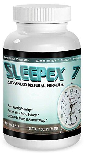 SLEEPEX Natural 1560Mg Ingredients Melatonin product image