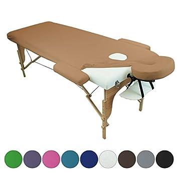 Linxor ® Sábana de protección 4 partes en esponja para mesa de masaje - 9 colores - Norma CE: Amazon.es: Salud y cuidado personal