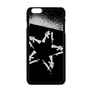 Rockband Guitar hero and rock legend Fashion Cell Phone Case for iPhone 6 Plus 5.5""