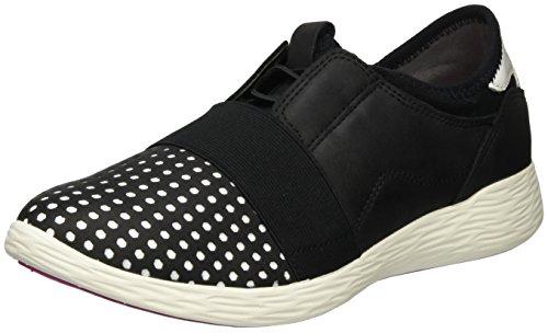 white Tamaris Basses Sneakers 005 Femme 23722 black Noir wYrE8qYxg
