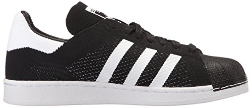 Adidas Originali Mens Superstar Pk Sneaker Nero / Bianco / Nero