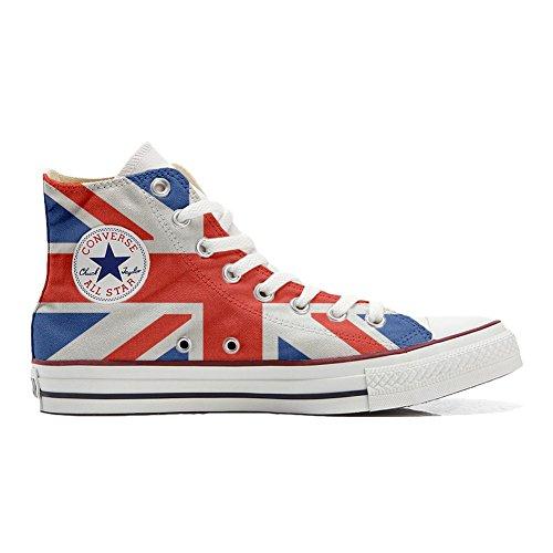 drapeau chaussures All anglais Italien Personnalisé Converse coutume artisanal Hi Shoes Star et Your Make produit Imprimés Sneaker Unisex zS1aTgWqw
