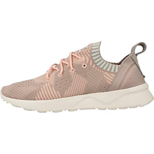 Adidas Zx Flux Adv Virtù Pk W - Bb4266 Bianco-grigio-rosa