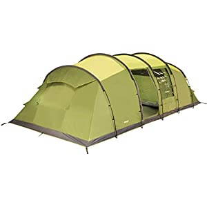 Vango Odyssey Family Tunnel Tent, Epsom Green, 800