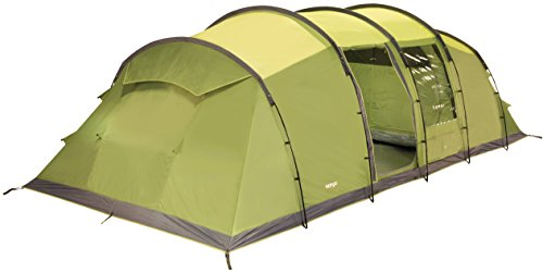 Vango Waterproof Odyssey 800 Unisex Outdoor Tunnel Tent Available in Green – 8 Persons