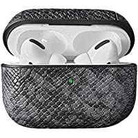 For AirPods Pro Case Snake Leather Ultra Thin 360 degree Full Body Protective Shockproof Shockproof Wireless Charging…