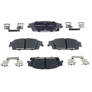 Disc Brake Pad Set-Ceramic Disc Brake Pad Front ACDelco Advantage 14D1367ACH