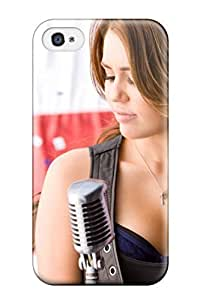 6168228K12833738 New Arrival Case Cover With Design For Iphone 4/4s- Miley Cyrus 523