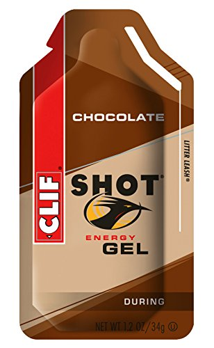 Clif Shot Gel Chocolate, 24 - 1.2 oz packets,  28.8 oz.