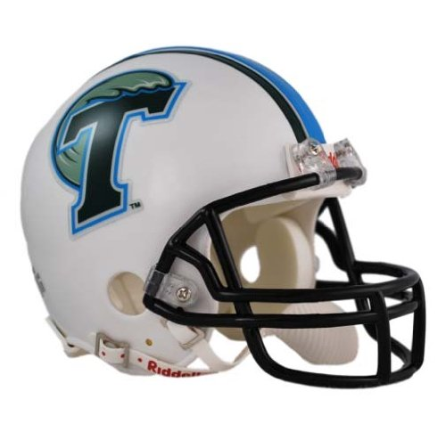 UPC 095855318172, Tulane Green Wave Riddell Mini Helmet