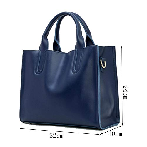 Main Blue Loisirs Sacs Carrées Sac Sacs Haute Mode élégantes tout Rivet Femmes à Multifonctions Capacité Pochettes Fourre aq5v5R0