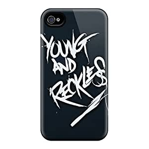Iphone 6 UCR18707gYZf Customized High Resolution Young And Reckless Image Shock Absorption Hard Phone Cover -DannyLCHEUNG