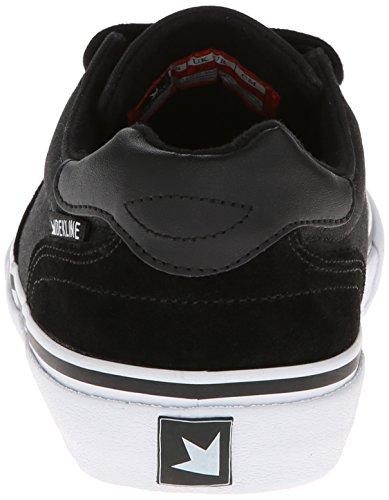 Dekline Black Shoe Wayland Skateboard White Men's q4qUrPw7