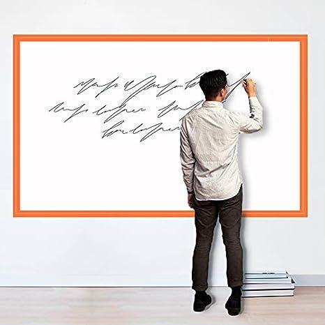 Magjump Whiteboard, autoadhesiva, tablero de borrado en seco para vinilos decorativos para pared Rollo de pizarra extraíble para la escuela, oficina, ...