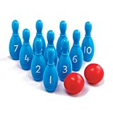 edx Education Number Skittles - Bowling Play Set for Kids