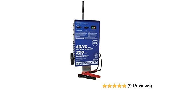 ociated Equipment US20 6/12 Volt Value Battery Charger on
