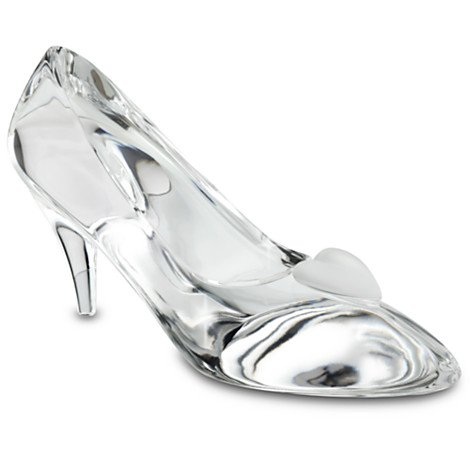 Cinderella Glass Slipper by Arribas - Large- Personalizable (Cinderella Arribas Brothers compare prices)