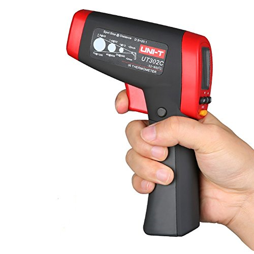UNI-T UT302C Infrared Thermometer measure temperature from a distance EASY  to carry non- e42c0b9056c7d