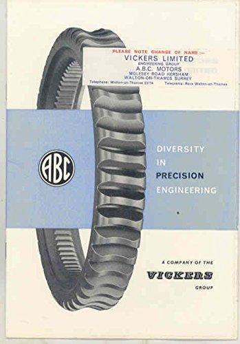 1910 - 1963 ABC Vickers Auto Motorcycle Aircraft Engine History (Abc Engine)