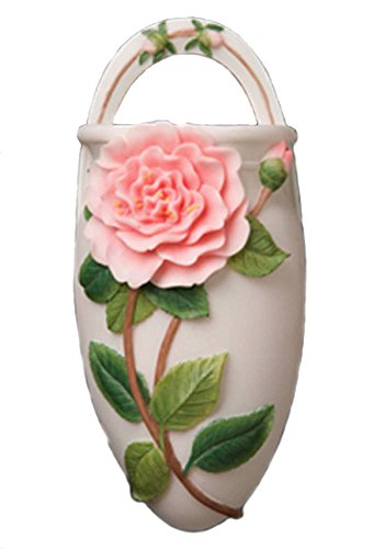 Retired Ibis & Orchid Camellia Wall Vase 40118 ()