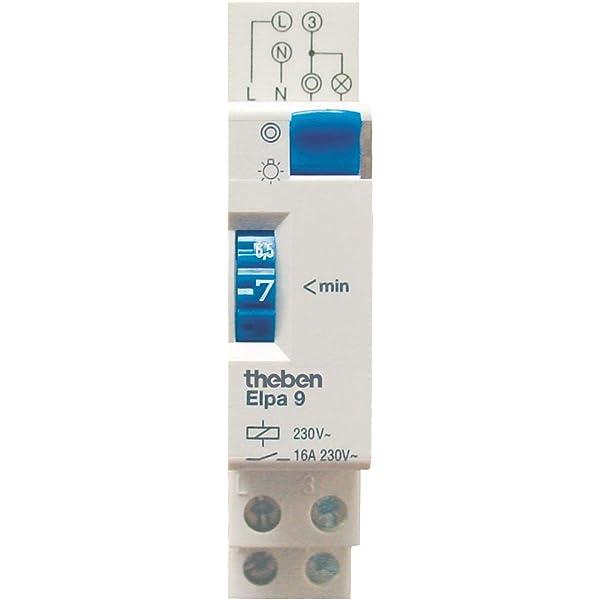 Mecánico Automático Para Interruptor de tiempo de luz escalera de escalera escaleras Luz Tiempo Relé temporizador: Amazon.es: Electrónica