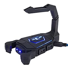 With RGB LED backlight, colorful and beautiful. Special ergonomic design gives you marvelous experience while gaming. Anti-slide striation surface design for comfortable feel and precise position. Wrist support to give you an amazing f...